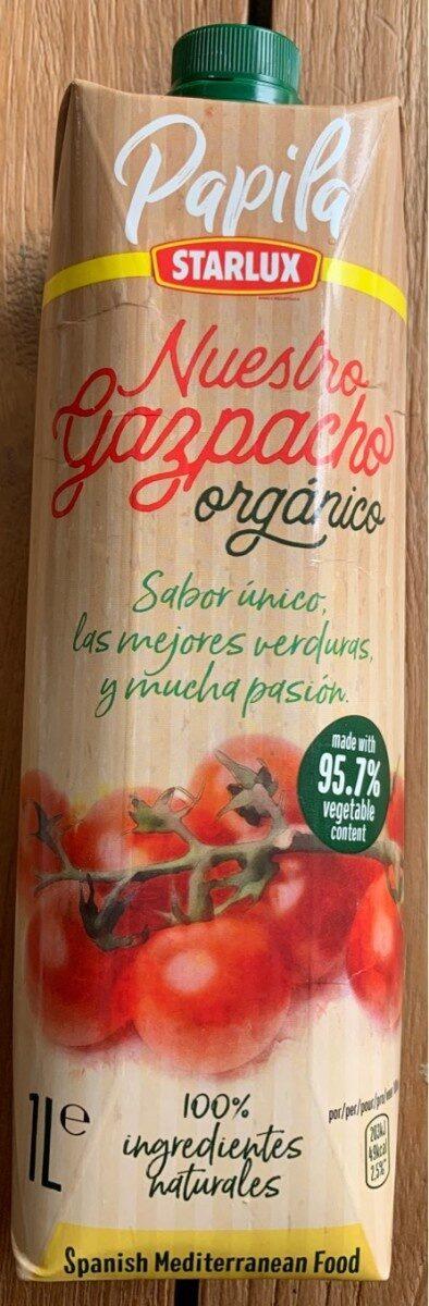 Nuestro gazpacho organico - Produit