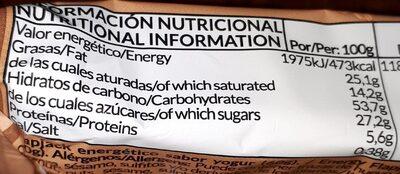 Flap jack - Nutrition facts - es