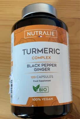 Turmeric complex. Black pepper ginger - Product - es