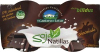Natillas de soja Chocolate - Produit - es