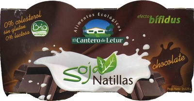 Natillas de soja Chocolate - Produit