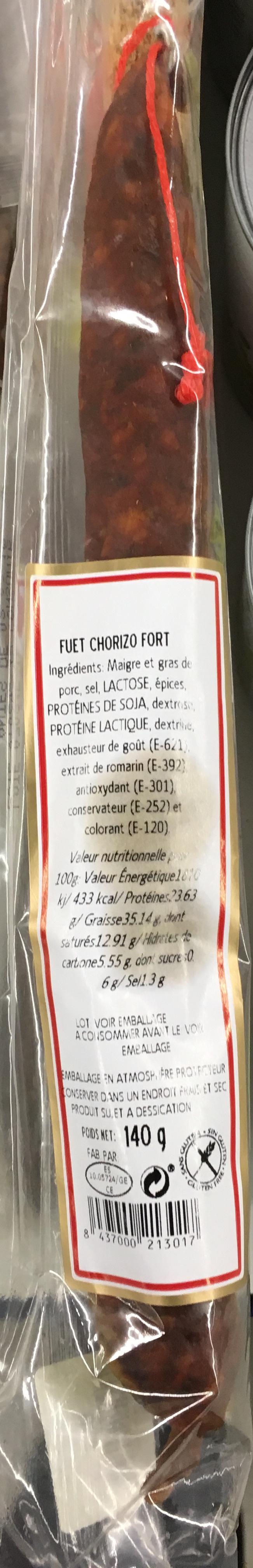 Fuet Chorizo fort - Produit - fr