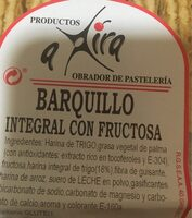 Barquillo inegral con fructosa - Product