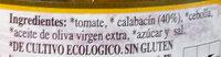 Pisto de calabacín - Ingredientes - es