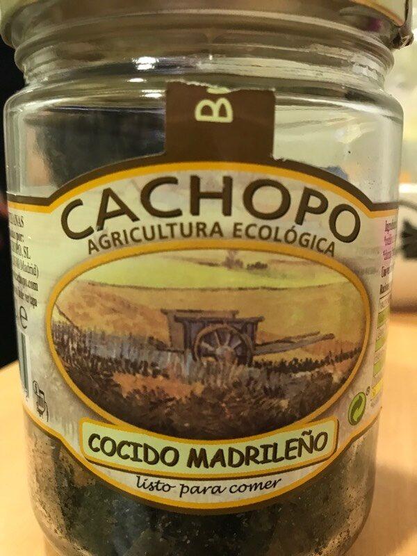 Cocido madrileño - Produit