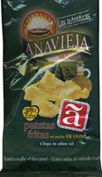 Patatas fritas artesanas en aceite de oliva bolsa 150 g - Producto