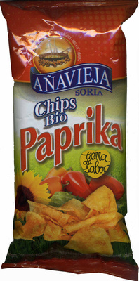 Chips Bio Paprika - Producto