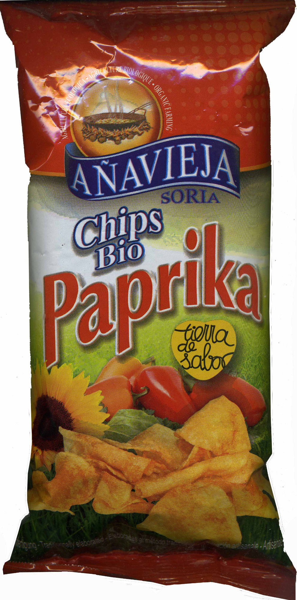 Chips bio paprika - Producto - es