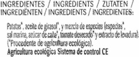 Chips Bio Paprika - Ingredients