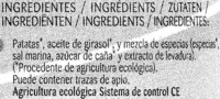 Chips bio provenzal - Ingredientes - es