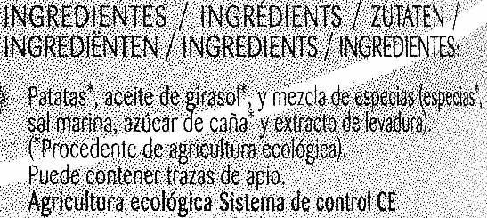 Chips Bio Provenzal - Ingredientes