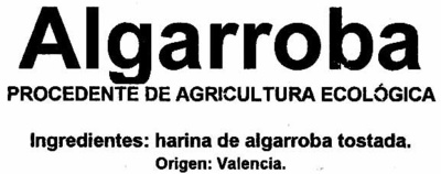 Algarroba - Ingredientes
