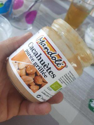 Pure Cacahuete Tostado Eco 325G, Mandole - Producte