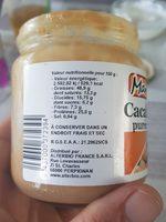 Pure Cacahuete Tostado Eco 325G, Mandole - Ingredients