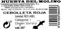 Cebolletas tiernas rojas - Ingredientes