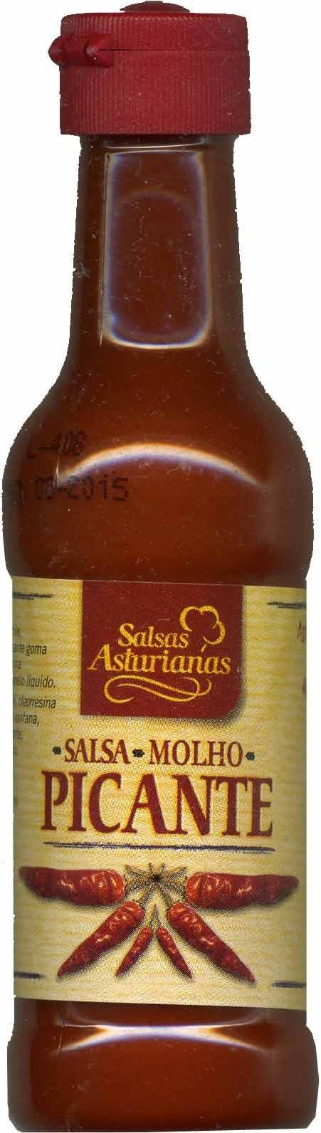 Salsa de chiles picantes - Producto
