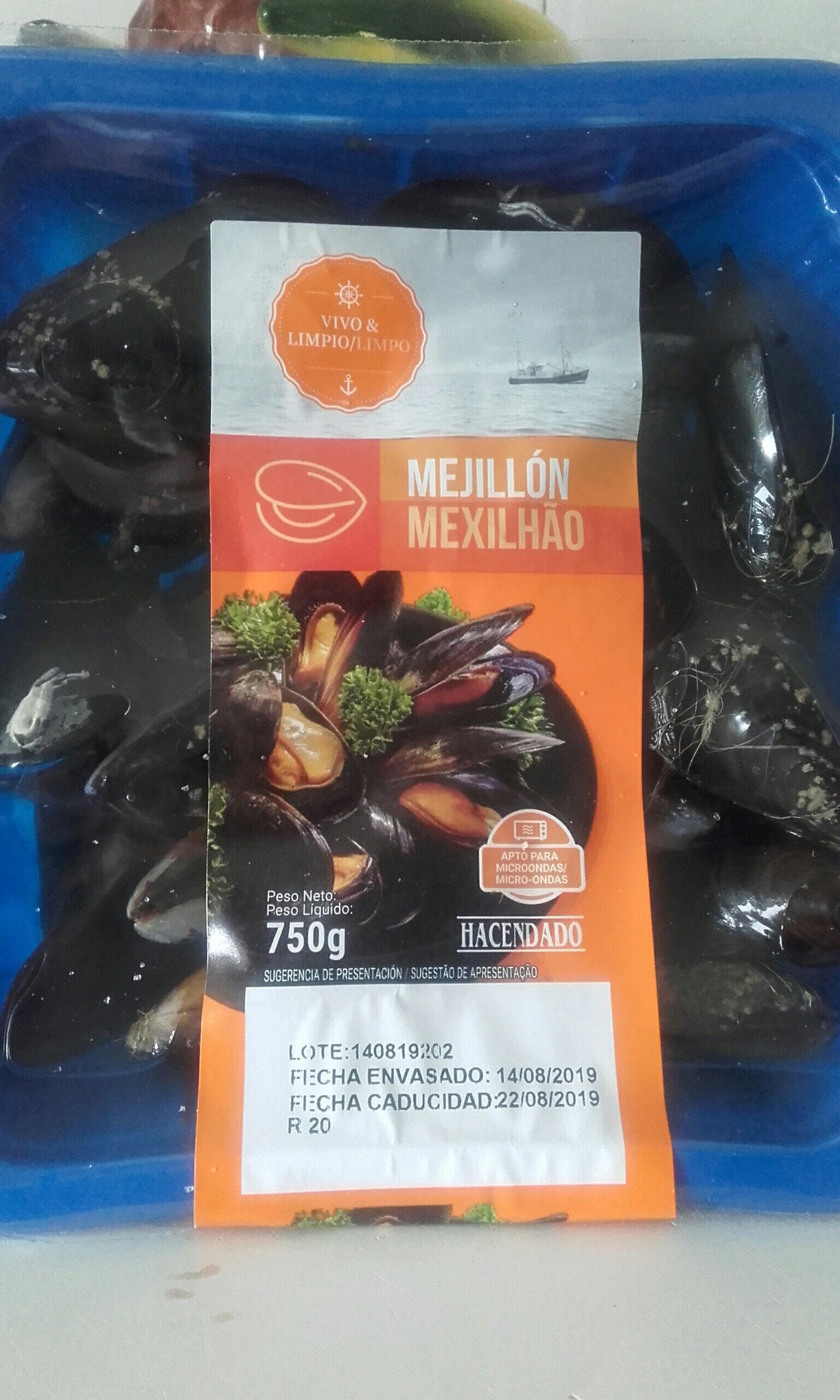 Mejillones - Producto