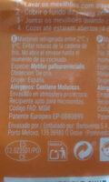 Mejillones - Ingredientes