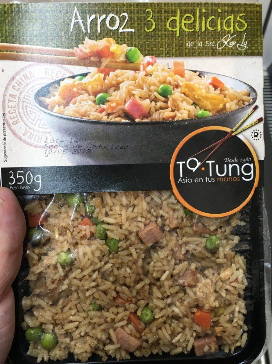 Arroz tres delicias envase 350 g - Product