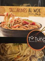 Tallarine al wok - Producto