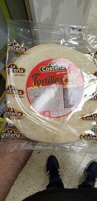 Tortilla de trigo bolsa 320 g - Producto