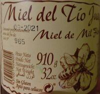 Miel de Mil Flores - Producto - es