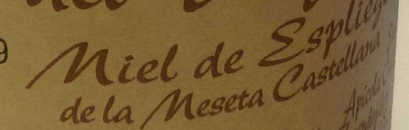 Miel de espliego de la meseta castellana - Ingredients