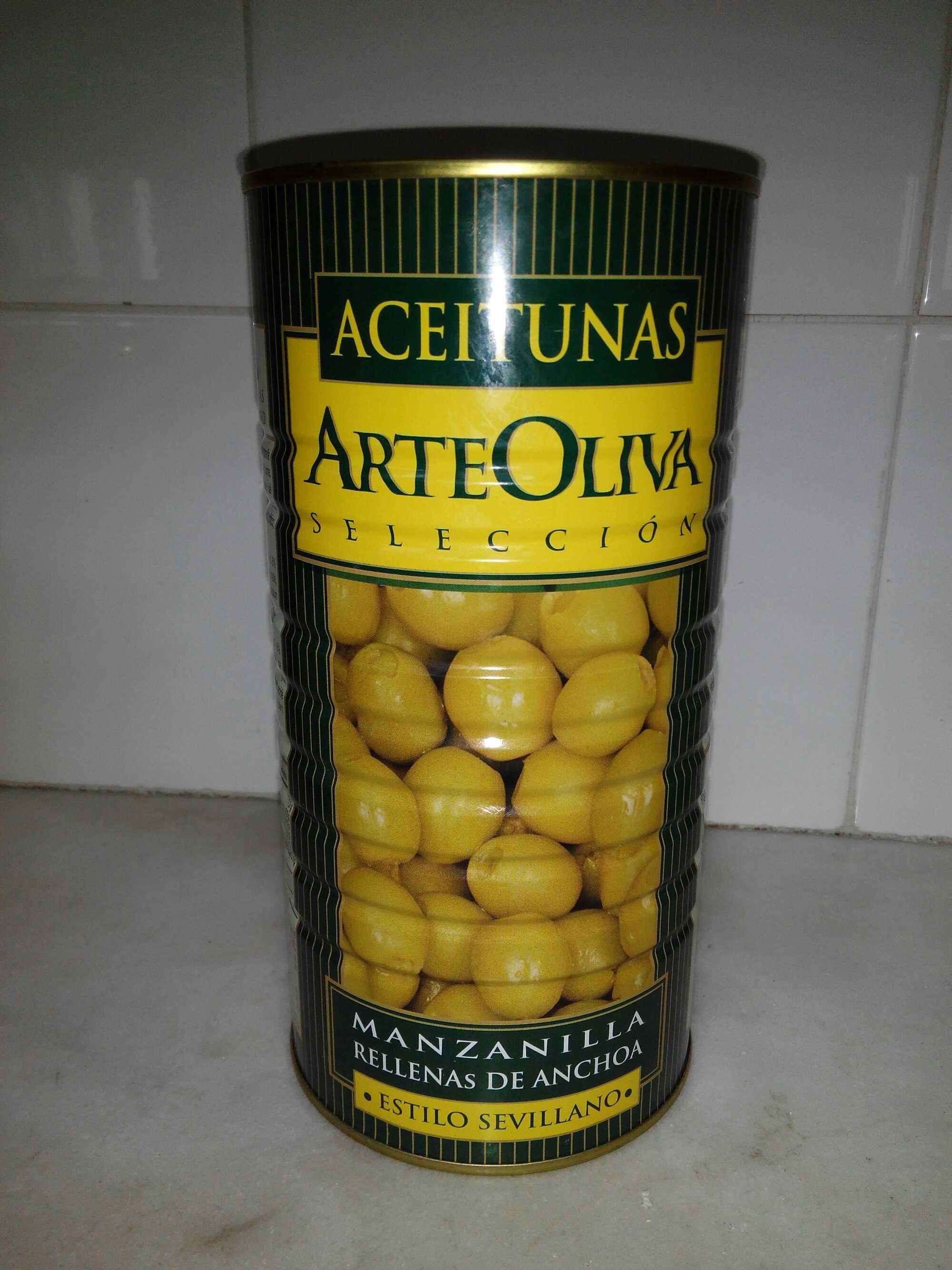 aceitunas rellenas de anchoa - Producto - es