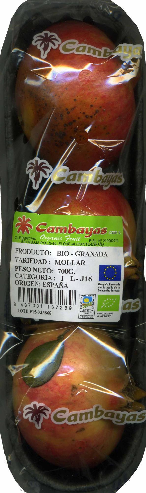 Granadas - Producto - es