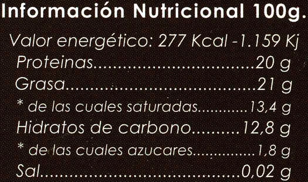 Cacao puro - Voedigswaarden