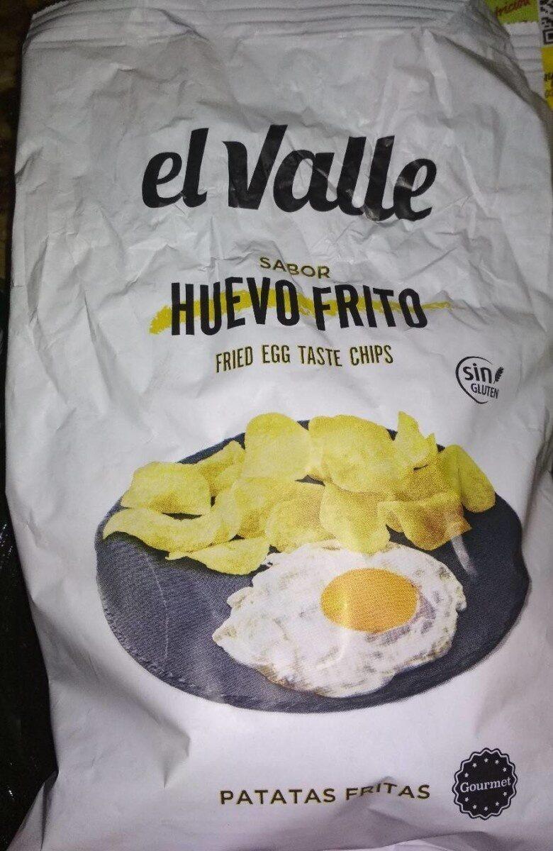 Patatas fritas sabor huevo frito - Product