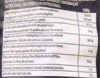 El valle - Informació nutricional - fr