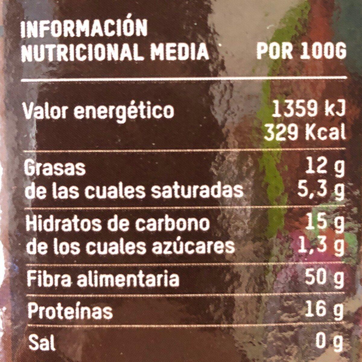Tierra madre Café molido natural - Voedingswaarden - es