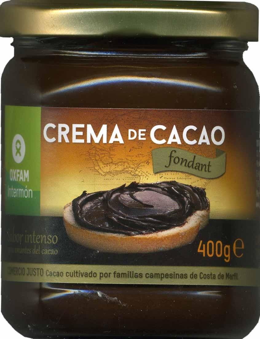 Crema de cacao - Product