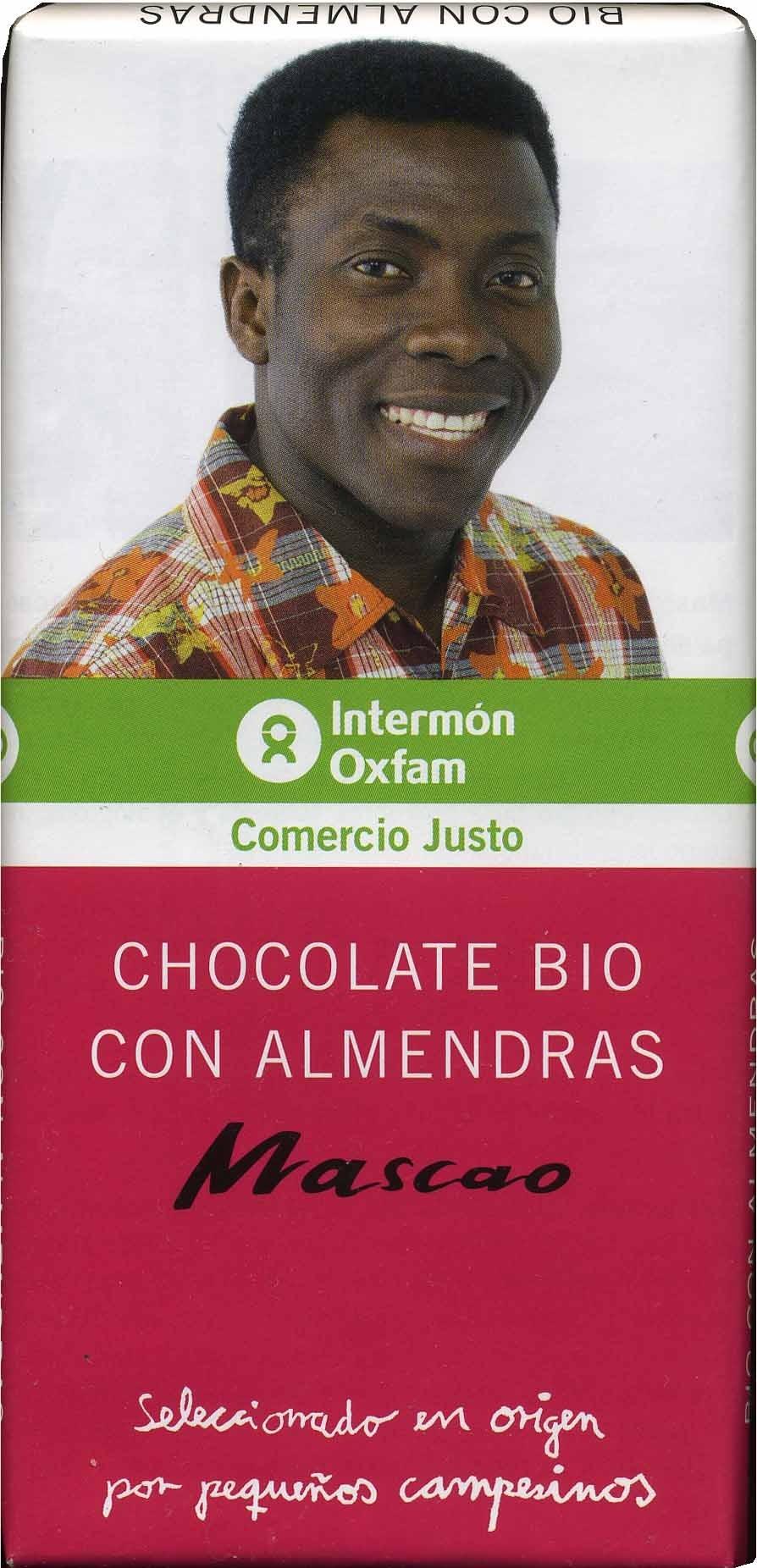 Tableta de chocolate negro con almendras 58% cacao - DESCATALOGADO - Producto - es