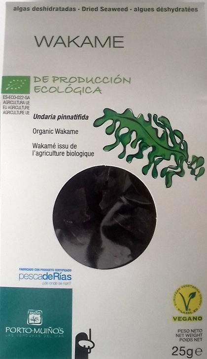 Algas deshidratadas Wakame - Producto