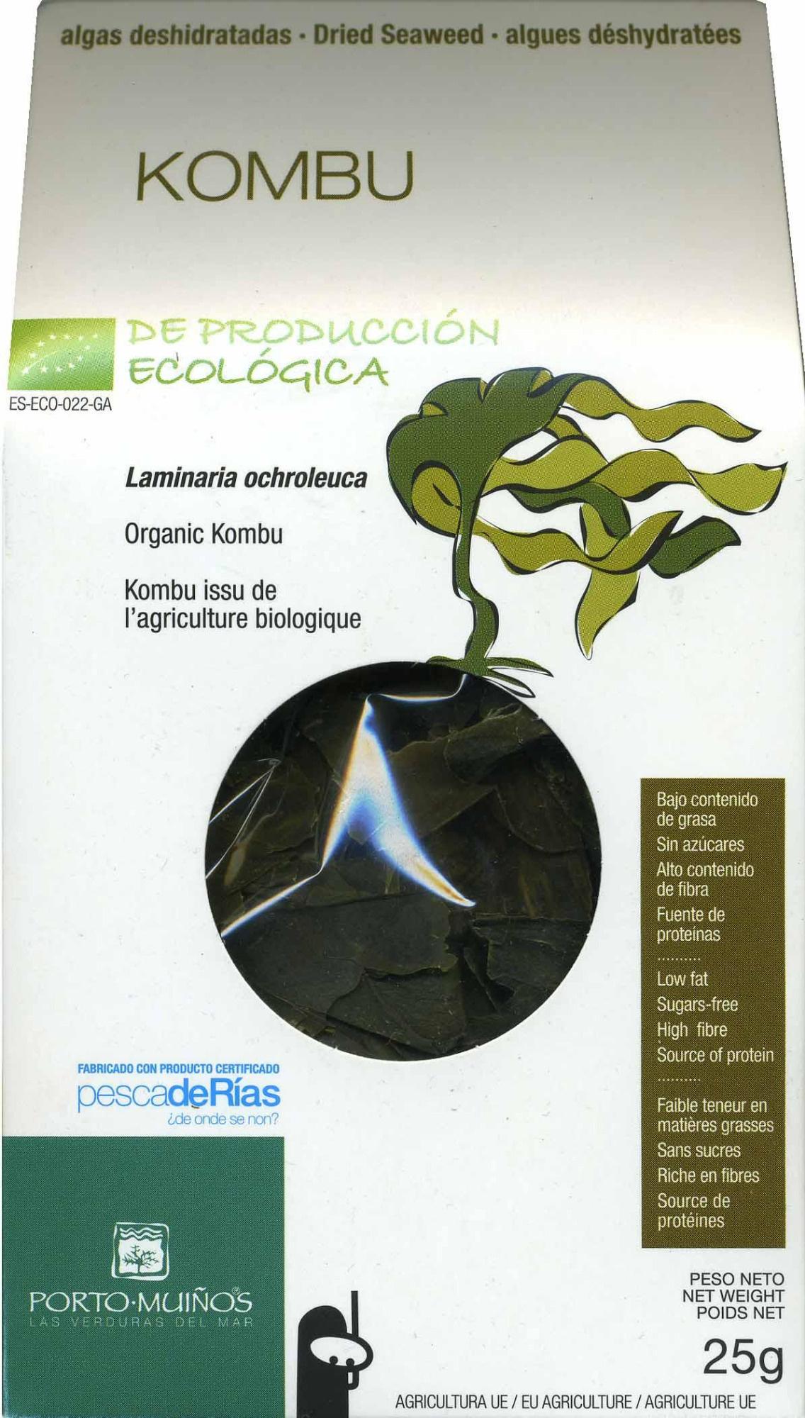 Algas kombu deshidratadas - Producte - es