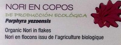 Algas deshidratadas nori en copos - Ingredients - es