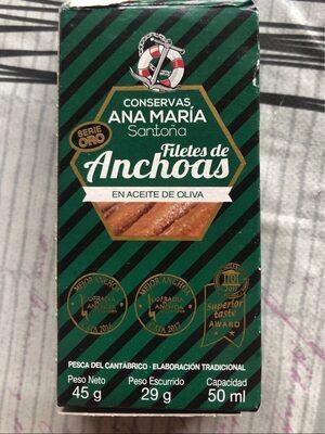 Filetes de anchoas - Product - es
