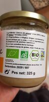 Tahin Sésam Blanc puré bio - Ingredientes - es