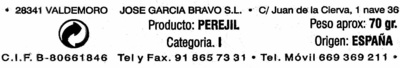 Perejil fresco - Ingredients