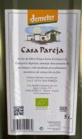 Aceite de oliva virgen extra DEMETER - Producto - es