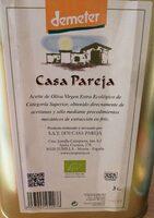 Aceite de oliva virgen extra ecológico categoría superior - Producto - es