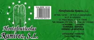 Espárragos verdes - Ingredients