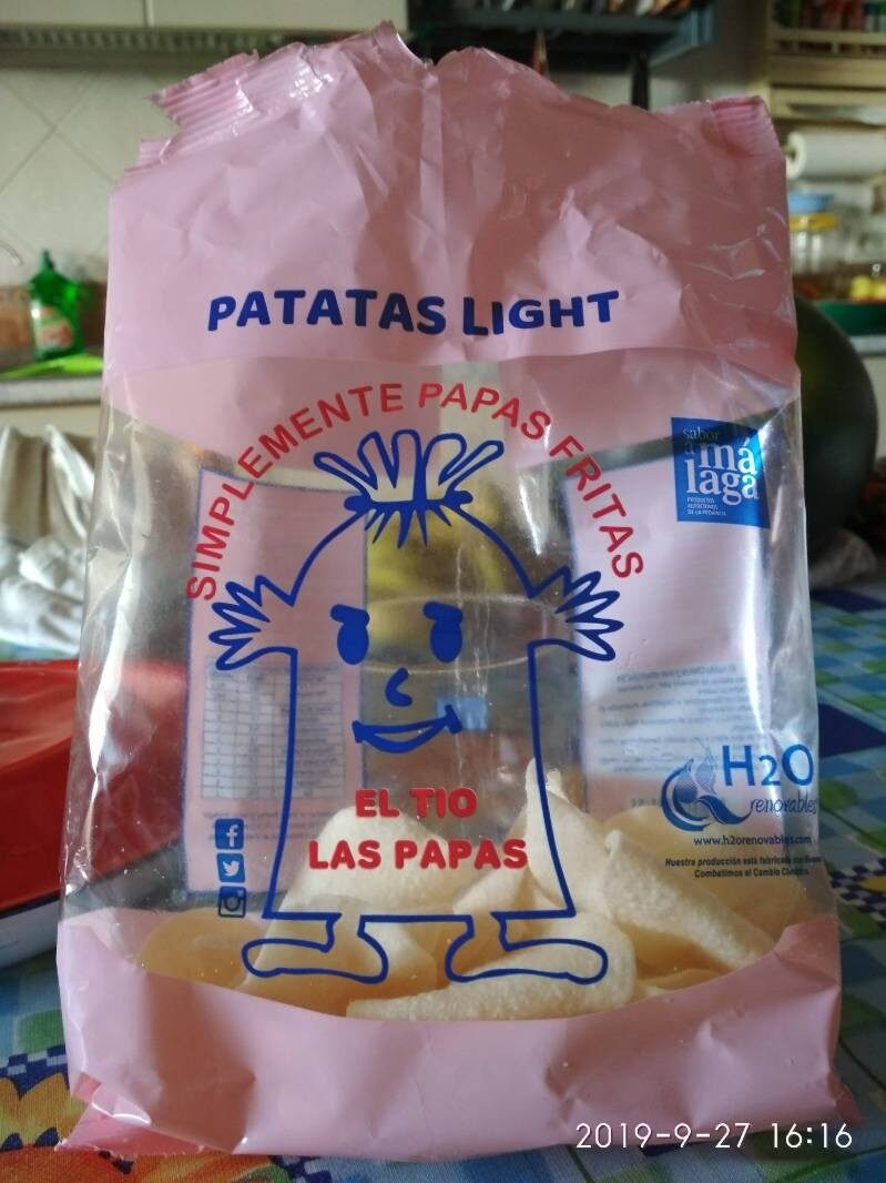 Patatas light - Product