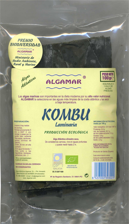 Alga kombu - Product - es