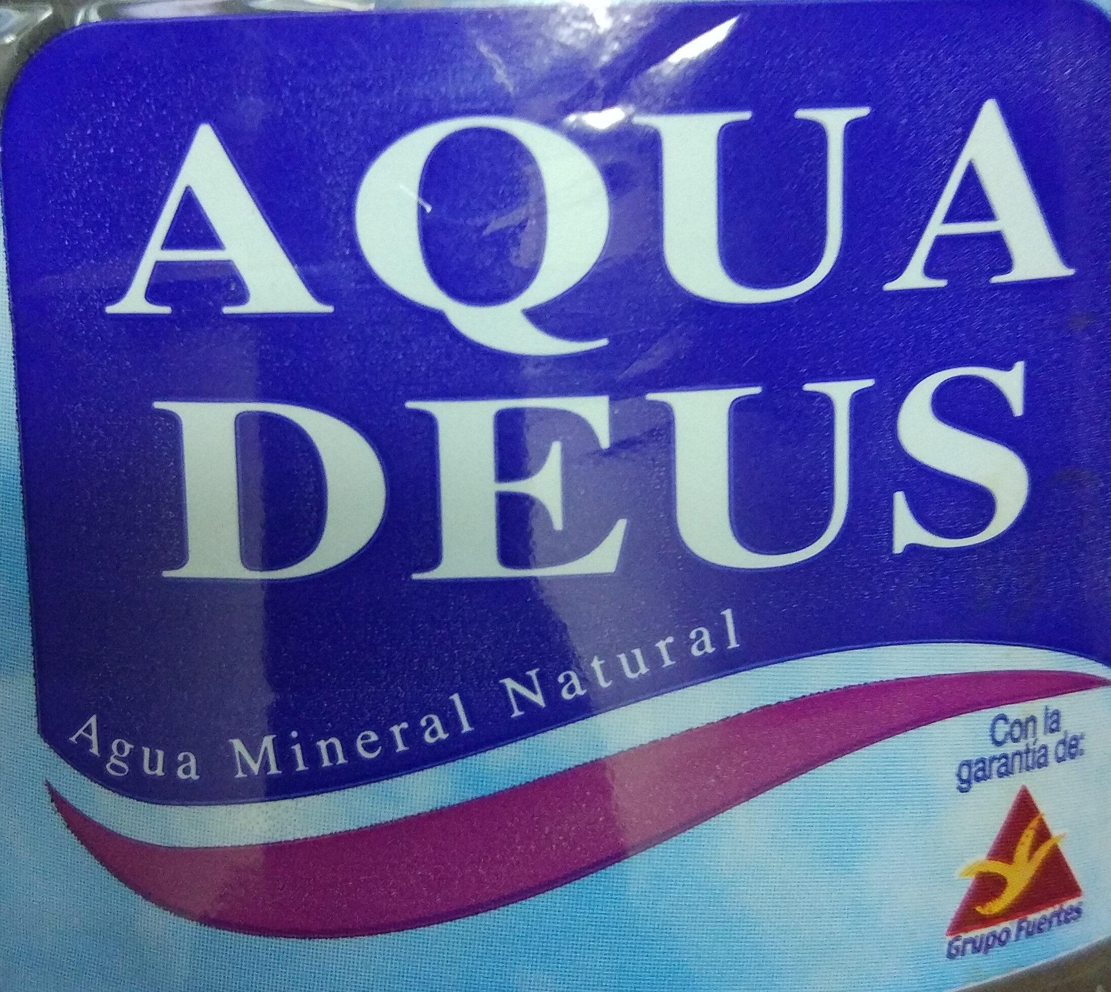Aqua Deus 1,5 Litros - Ingredientes