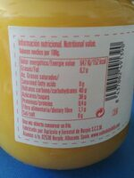 Mermelada mango - Informations nutritionnelles - es