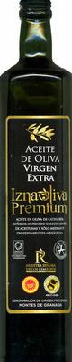 Aceite de oliva virgen extra Origen Montes de Granada