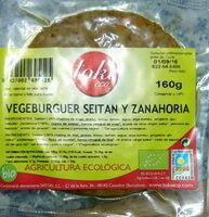 Vegeburguer seitán y zanahoria - Producto